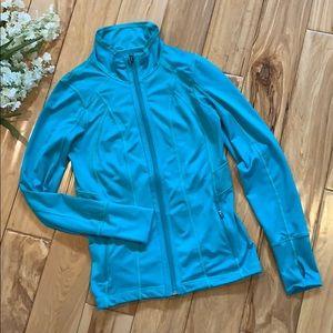 Tangerine Athletic Zip Up Jacket